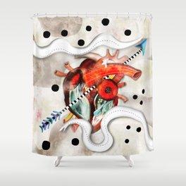 Sagado Corazón Shower Curtain