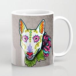 Bull Terrier - Day of the Dead Sugar Skull Dog Coffee Mug