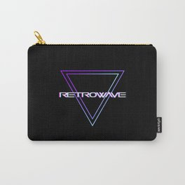 Retrowave Aesthetic Carry-All Pouch