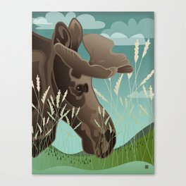 Shiras Moose Canvas Print