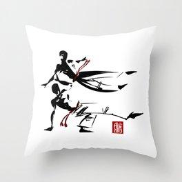 Capoeira 463 Throw Pillow