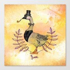 Mr.Goose I Canvas Print
