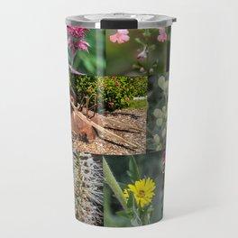 Around the Flower Garden Travel Mug