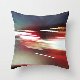 nightdrive 2 Throw Pillow