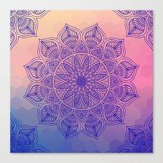 Mild Mandala Canvas Print