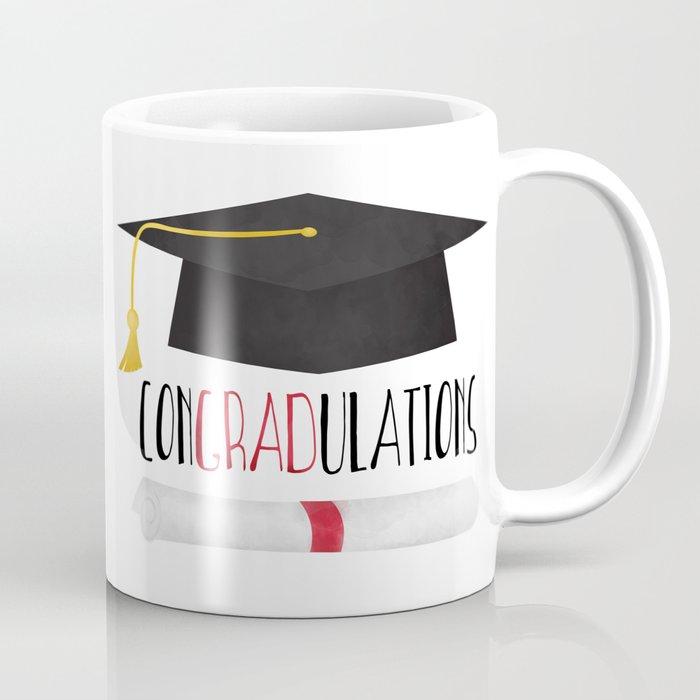 congradulations coffee mug by avenger society6