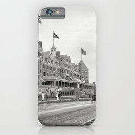1910 Hotel Mathewson & Coastguard House at Narragansett Pier, Narragansett, Rhode Island iPhone Case