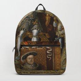 The family of Henry VIII Backpack