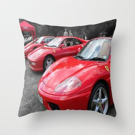 Red Heaven! Throw Pillow