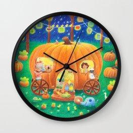 The Pumpkin Band Wall Clock