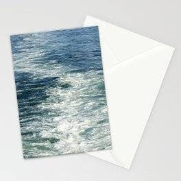 Ocean Wake From Back of Ship Stationery Cards