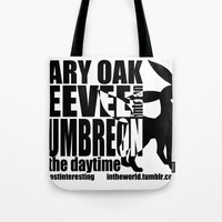 umbreon Tote Bags featuring Gary's Umbreon by interesting oak