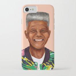 Hipstory - Nelson Mandela iPhone Case