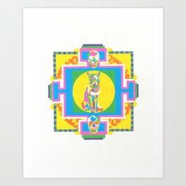 meditation aid Art Print
