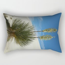 Soap Yucca In The White Sands Dunes Rectangular Pillow