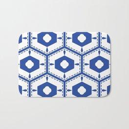 Mediterranean pattern Bath Mat