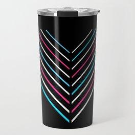 Transcend Neon Heart Travel Mug