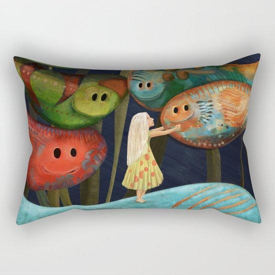 My Fascinating Friends Rectangular Pillow