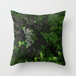 Birth of a Forest Throw Pillow