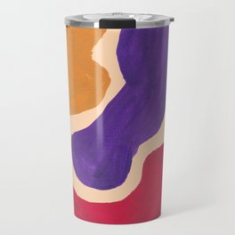 31 190330 Abstract Shapes Painting Travel Mug