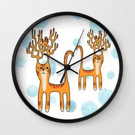 Dear Kitty Wall Clock