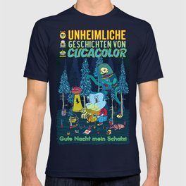 UNHEIMLICHE GESCHICHTEN VON CUCACOLOR T-shirt