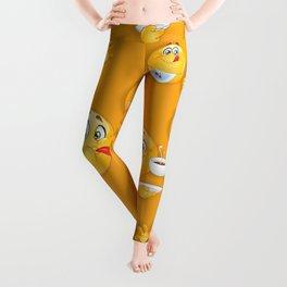 Emoji Pattern 6 Leggings