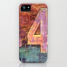 Journey by Number: 4 iPhone Case