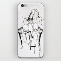 army iPhone & iPod Skins featuring Dumbledore's Army by Jena Sinclair