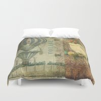 voyage Duvet Covers featuring Voyage by Aimee Stewart