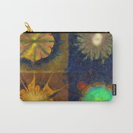 Unijugous Threadbare Flowers  ID:16165-010211-80730 Carry-All Pouch