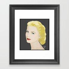 Grace Kelly Framed Art Print