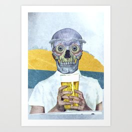 I want my beer Art Print