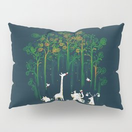 Re-paint the Forest Pillow Sham