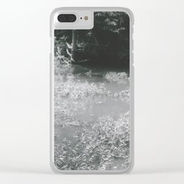 Murky Water Clear iPhone Case