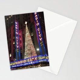 Radio City Music Hall, New York City Stationery Cards