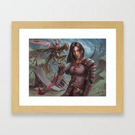 Mantis Warden Framed Art Print