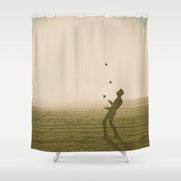 Juggler 4 Shower Curtain