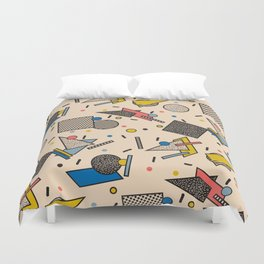 Memphis Inspired Pattern 7 Duvet Cover