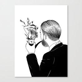 Man In Love Canvas Print