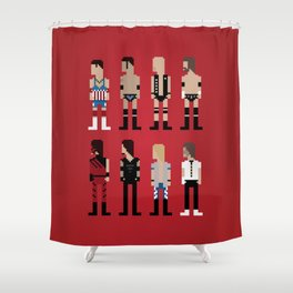 Attitude Shower Curtain