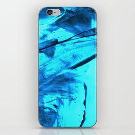 Blue Wind iPhone Skin