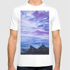 Colorado MEDIUM Mens Fitted Tee White