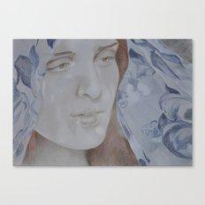 Ava (Blue) Canvas Print