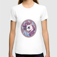 my little pony T-shirts featuring My Little Pony: Rarity by Zelbunnii