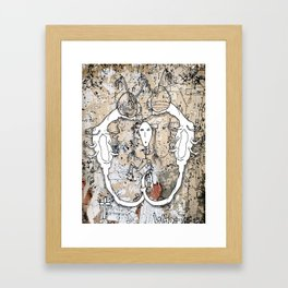 Twin Fury Framed Art Print