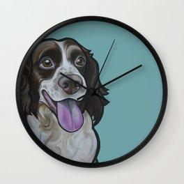 Bea the Springer Spaniel Wall Clock