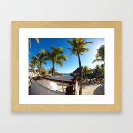 Tropical Vibes Framed Art Print