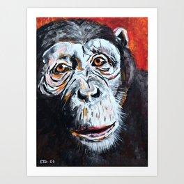 Chimpanzee: One Survivor Art Print