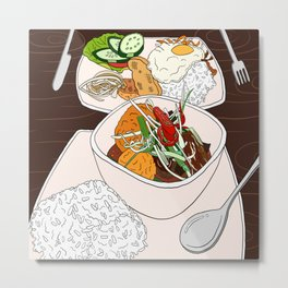 Vietnamese Food Treat Metal Print